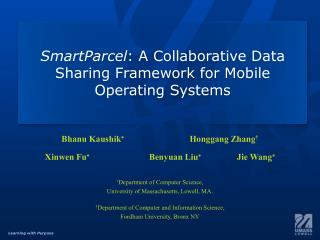 SmartParcel : A Collaborative Data Sharing Framework for Mobile Operating Systems