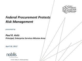 Federal Procurement Protests Risk Management