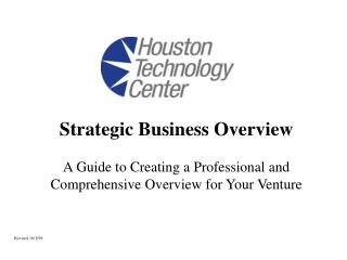 Strategic Business Overview
