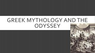 Greek mythology and the odyssey