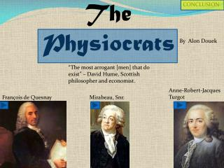 The Physiocrats