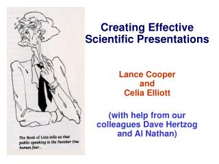 Creating Effective Scientific Presentations