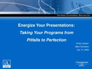 Energize Your Presentations