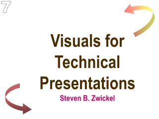 Visuals for Technical Presentations Steven B. Zwickel