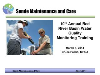 Sonde Maintenance and Care