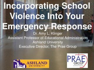 Incorporating School Violence Into Your Emergency Response