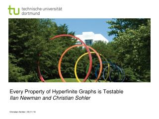 Every Property  of  Hyperfinite Graphs  is Testable Ilan Newman  and  Christian  Sohler