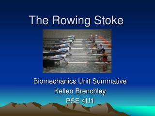 The Rowing Stoke