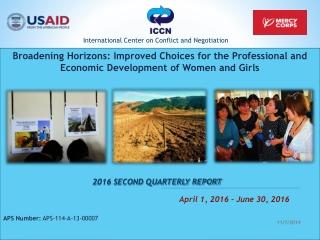 2016 SECOND QUARTERLY REPORT