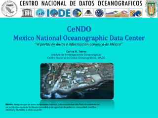 CeNDO Mexico National Oceanographic Data Center