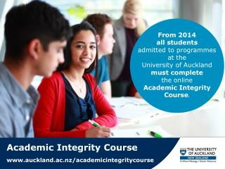 Academic Integrity Course