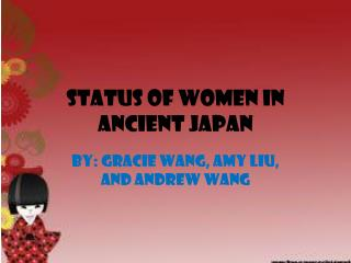 Status of Women in Ancient Japan