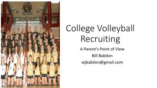 College Volleyball Recruiting