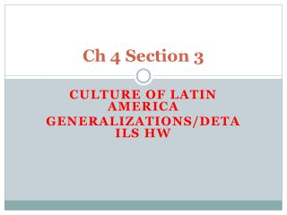 Ch 4 Section 3