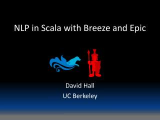 NLP in  Scala  with Breeze and Epic