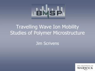 Travelling Wave Ion Mobility Studies of Polymer Microstructure