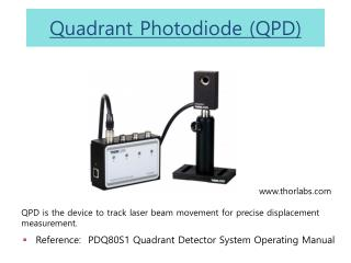 Quadrant  Photodiode (QPD)