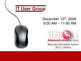 IT User Group