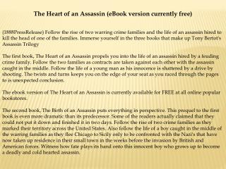 The Heart of an Assassin (eBook version currently free)