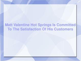 Matt Valentine - Hot Springs