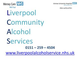 L iverpool  C ommunity A lcohol S ervices