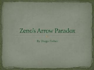 Zeno's Arrow Paradox