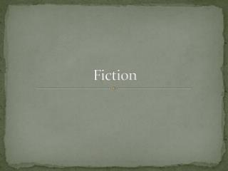 Fiction