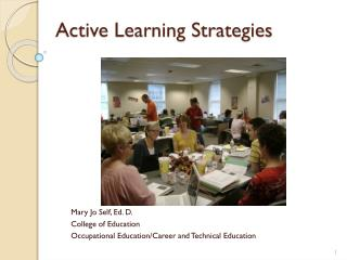 Active Learning Strategies