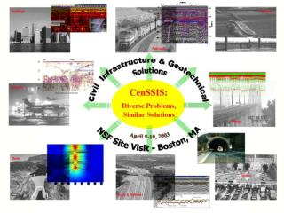 Subsurface Sensing and Imaging for Civil Infrastructure Diagnostics