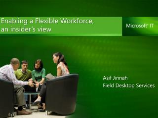 Asif Jinnah Field Desktop Services