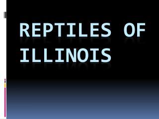 Reptiles of Illinois