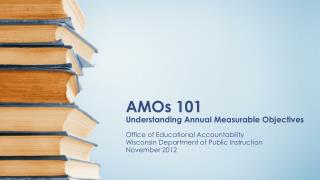 AMOs 101 Understanding Annual Measurable Objectives