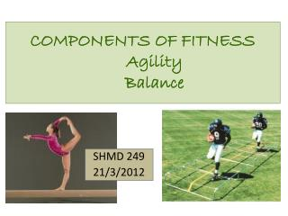 COMPONENTS OF FITNESS Agility Balance