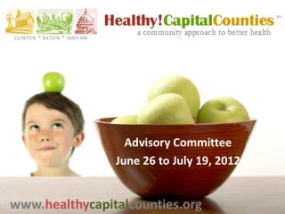 Advisory Committee June 26 to July 19, 2012