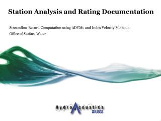 Station Analysis and Rating Documentation