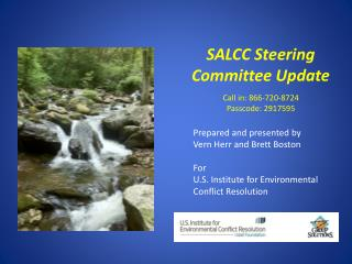 SALCC Steering Committee Update