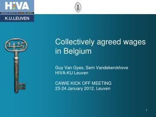 Wage formation in Belgium