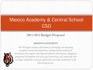 Mexico Academy & Central School CSD