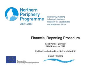 Claiming procedure, financial report
