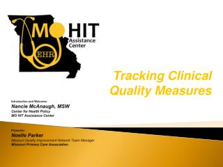 Tracking Clinical Quality Measures