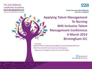 Sue Haines Assistant  Director of Nursing,  Nottingham University Hospitals NHS Trust