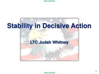Stability in Decisive Action LTC Judah Whitney