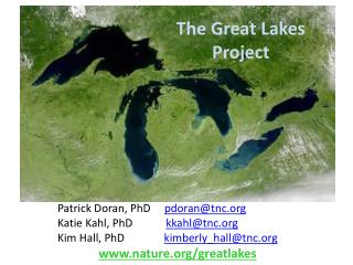 T he Great Lakes P roject