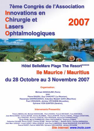 7 me Congr s de l Association Innovations en  Chirurgie et  Lasers  Ophtalmologiques