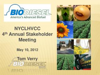 NYCLHVCC 4 th  Annual Stakeholder Meeting  May 10, 2012 Tom Verry
