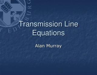 Transmission Line Equations