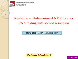 Real-time multidimensional NMR follows RNA folding with second resolution