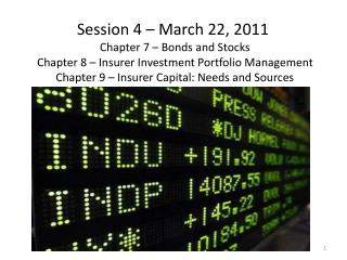 Session 4 –  March 22, 2011