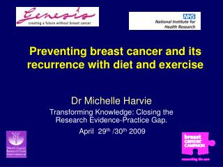Preventing breast cancer and its recurrence with diet and exercise