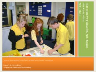 11/12/13/14   School Action Plan Working Party Agreement & Guidance Notes